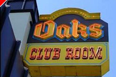 扑克室评论:加利福尼亚Emeryville的 Oaks棋牌俱乐部