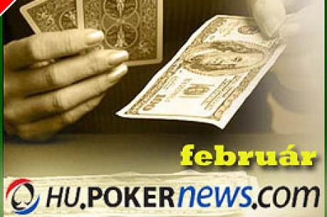A Hu.PokerNews.Com februári ajánlatai!!!