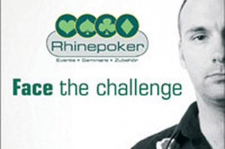 Rhinepoker macht Sie zum Millionär - Spielen Sie live im TV um 1 Million