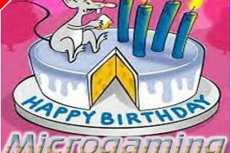 Nagy meglepetésekkel ünnepli 4. születésnapját a Microgaming!