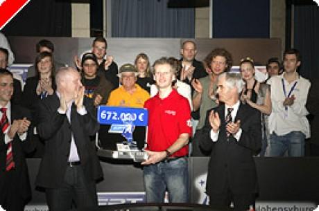 Andreas Hoivold nyerte a €2,500,000 összdíjazású EPT Dortmund tornát!
