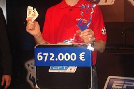 EPT Dortmund – Andreas Holvold Ganha €672,000.00