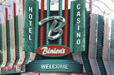 Las Vegas Grand Prix Poker Event Set For Binion's
