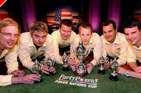 Suécia Arranca Vitoria Espectacular no PartyPoker Poker Nations Cup.