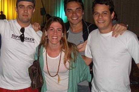 """Poker Stars Team Brasil – André Aakkari, Igor Federal e Thiago Carriço, """"Três..."""