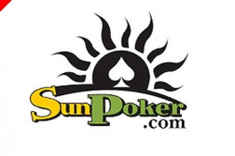 Sun Poker med $1,000 bonus hver måned