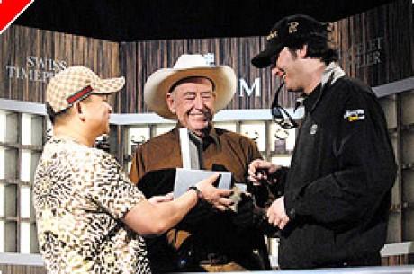 WSOP 2007 - Phil Hellmuth a világon elsőként szerezte meg a 11. arany karkötőjét!!!