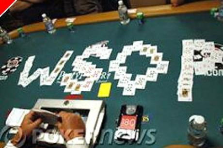 WSOP Main Event $10000 Dia 1 A – Tinten Olivier na Liderança
