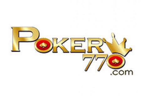 Poker770 - Un freeroll exclusif 1.000$ tous les 25 du mois