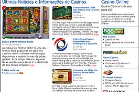 PT.PokerNews Lança Página Informativa Sobre Casinos Online