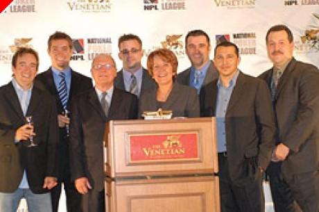 Venetian Hotel e Liga Nacional de Poker (NPL) Anunciam Parceria