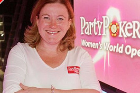 Beverley Pace wins the Party Poker Women's Open