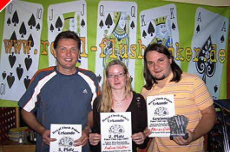 Royal Flush Poker gibt Gas – das Liga Finale 2007