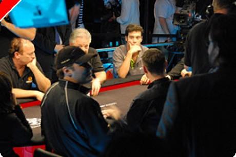 WSOPE Main Event - £10,000 NLHE: Janne Lamsa na Liderança, Phil Hellmuth Perto, Nuno...