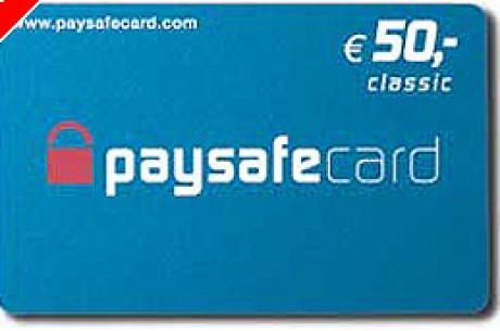 Depozit s kartico paysafecard