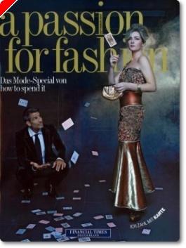 Katja Thater ist Covergirl der Financial Times Deutschland oder Pokern vs. Bildbearbeitung