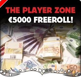€5000 Freeroll at Poker Heaven's Player Zone