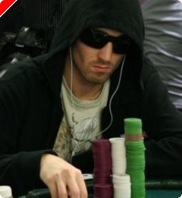 Tournoi de poker WPT Barcelone 2007 - Ludovic Lacay bute sur la dernière marche