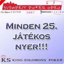 Fantasztikus BPO Ajánlat - CSAK ÉS KIZÁRÓLAG a Hu.PokerNews.Com játékosainak!