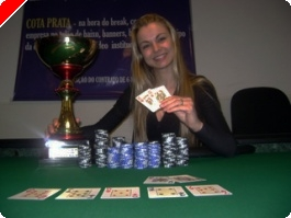 10ª Etapa Circuito ABC Poker – Jo Batista Vencedora