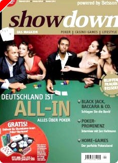 """Showdown"" – ein neues Pokermagazin am Markt"