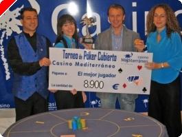 Gabino Rebelles se lleva el torneo de cubierto en el Casino de Villajoiosa