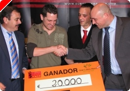 Manuel Mazo se lleva el CEP de Murcia