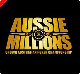Dva brezplačna turnirja za 12.500$ Aussie Millions na Poker770