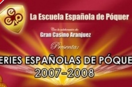 Forth stop of the Spanish Series of Poker in the Aranjuez Casino