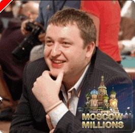 Tony G diadala az első Moscow Millions tornán