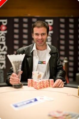 Arnaud Mattern, champion EPT  Pokerstars Prague 2008