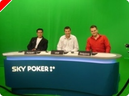 Behind the Scenes at the Sky Poker TV Studios