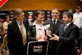 PokerStars.net EPT v Praze, finálový stůl: Mattern, šampion v backgammonu triumfuje