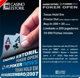 Casino Estoril Poker Open – PT.PokerNews 29 & 30 December
