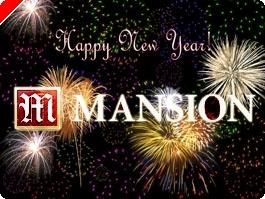 $20,080-ral kíván Boldog Új Évet a Mansion Poker!
