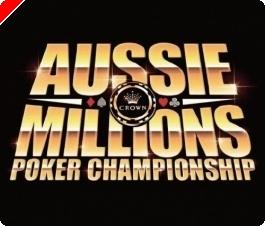 Aussie Millions: Turniej 1, $1,100 NLHE, Dzień 1