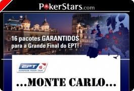 Super Satélite - Grande Final EPT Monte Carlo – 16 Pacotes Garantidos
