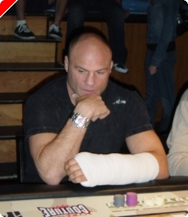 On Duty with Randy Couture and the 'Operation All In' Poker Fundraiser