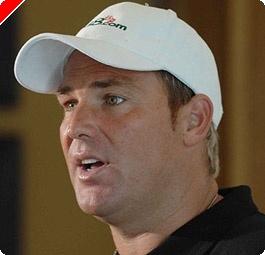Cricket Star Shane Warne Joins 888.com Poker Team