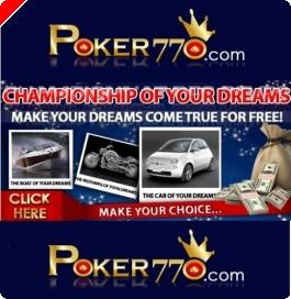 Jogue o campeonato dos Seus Sonhos – Poker770