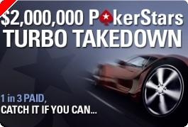 $2,000,000 Poker Stars Turbo TakeDown – 17 Fevereiro