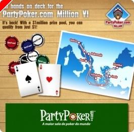 Party Poker Million VI – Você Não Vai?