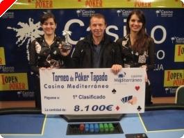 Resultados del torneo de tapado del Casino de Villajoyosa