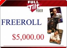 Full Tilt Poker - Freeroll $5,000 Jogadores Brasileiros Primeiro Depósito