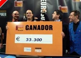 Juan de Diego, editor de es.pokernews.com, se lleva el Campeonato de España de Villajoyosa