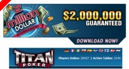ECOOP II. Torneio de $2,000,000 Guaranteed & Freerolls Exclusivos na Titan Poker!