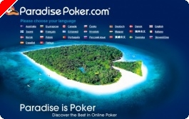 Freeroll €10,000 na Paradise Poker – Sábado 1 Março