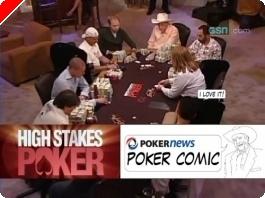 High Stakes Poker Cómico! Negreanu vs Benyamine