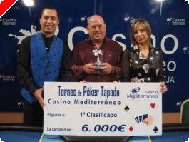 Luis Perdiguero se impone en el torneo de tapado del casino de Villajoyosa