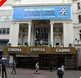 2008 World Series of Pokerヨーロッパ開催日発表